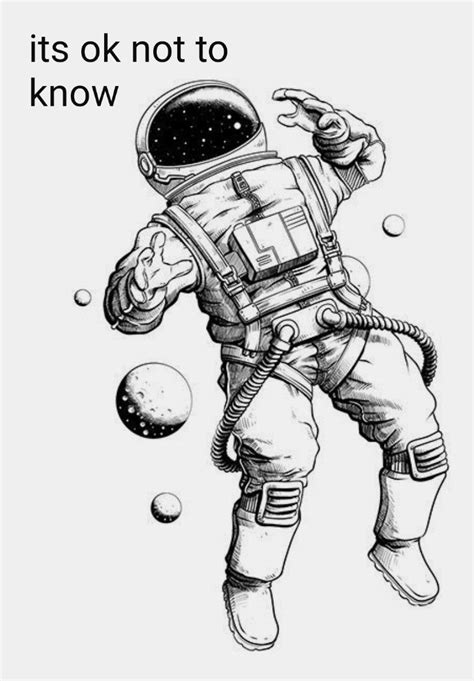 Pin by LexEd98 on Art. in 2019 | Astronaut tattoo