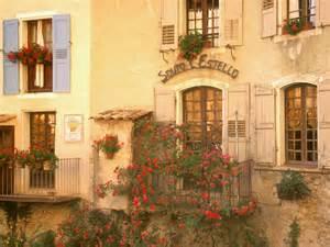 Balcony Flowers France