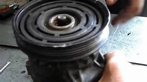 Compresseur Clim Scenic 2 : demontage poulie embrayage magnetique compresseur de clim youtube ~ Gottalentnigeria.com Avis de Voitures
