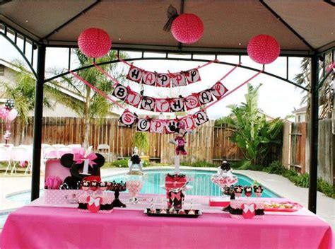 1st Birthday Party Decoration Ideas Elitflat