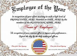 Employee Certificate Templates Free Employee Anniversary Certificate Template Best Professional Templates