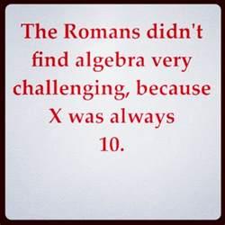 Funny Math Jokes Algebra