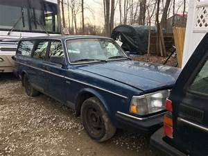 1990 Volvo 240 Wagon 4-door 2 3l Blue  Blue Cloth Interior