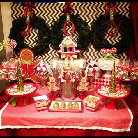 gingerbread christmas holiday party ideas christmas
