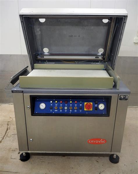 cryovac vc belt vacuum machine vacuum packers packaging products pacific food machinery