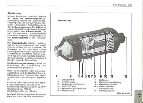 Nachtspeicherheizung Weiter Betreiben Oder Abschalten by Bmw E23 Standheizung