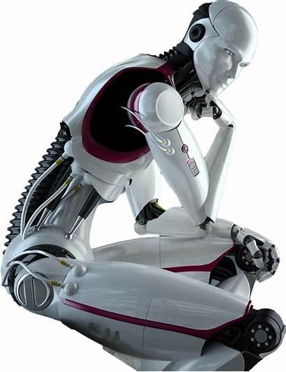 Robot Thinking Transparent Psbattle 1781 1372 Pngimg