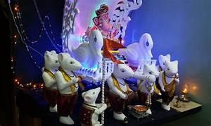 Ganesh Chaturthi Decoration Ideas - Ganesh Pooja Decor