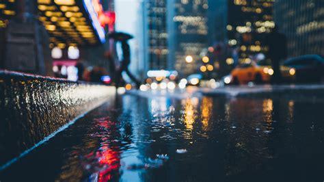 rainy city wallpapers