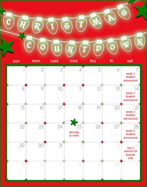 christmas countdown decorating challenge cookie connection