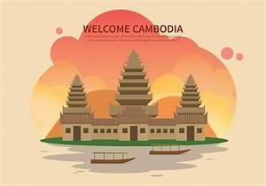 Free Cambodia Illustration