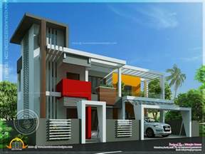contemporary home plans contemporary house in unique design indian house plans