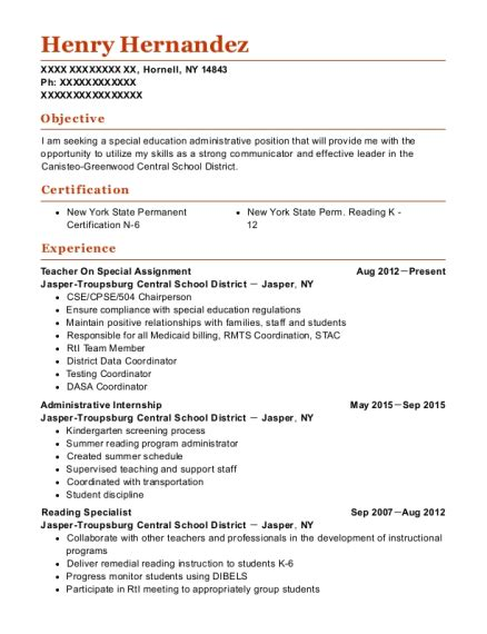 Resume Assignment by Best Special Assignment Resumes Resumehelp