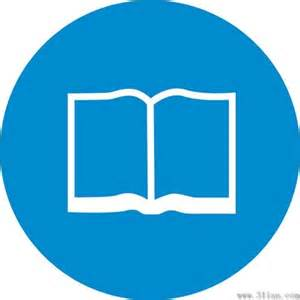 year book book icon blue background vector free vector in adobe