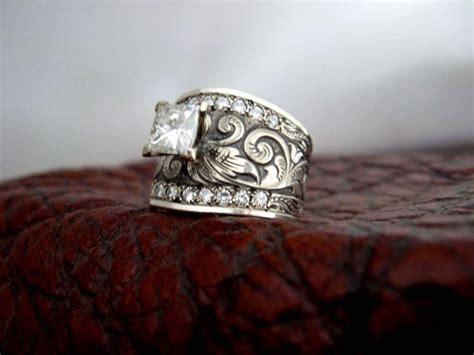 travis stringer custom western wedding rings