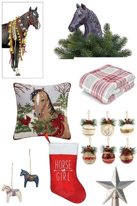 deck  halls  equestrian themed holiday decor