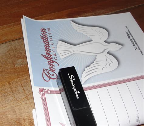 catholic confirmation preparation printable booklet
