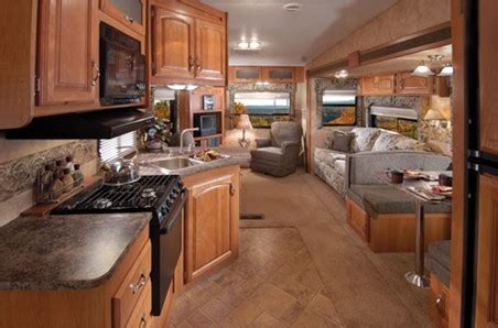 Keystone Cougar Travel Trailers Interiors