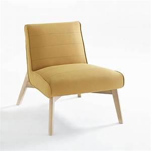 Pouf Jaune Moutarde : test avis petit fauteuil scandinave jimi de chez la redoute ~ Teatrodelosmanantiales.com Idées de Décoration