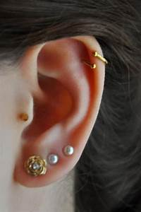 Gold-Plated Twisted Barbell | Cartilage earrings, Spiral ...