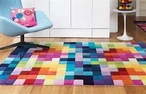 tapis haut de gamme multicolore funk par joseph lebon With tapis de couleur