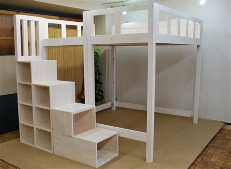 free loft bed plans full size quick woodworking ideas