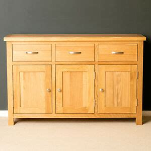 Light Oak Sideboard by Oak Large Sideboard Light Oak 3 Door Cupboard