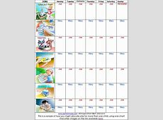 Daily Routine Chart Template Oninstall