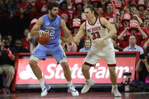 team effort cements rivalry victory  unc mens