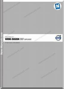 Volvo Supplement S80 07 2007 Wiring Diagram