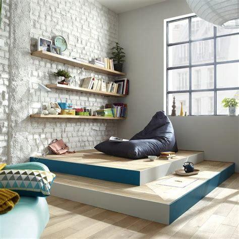 chambre avec estrade aménager une chambre cosy avec une estrade