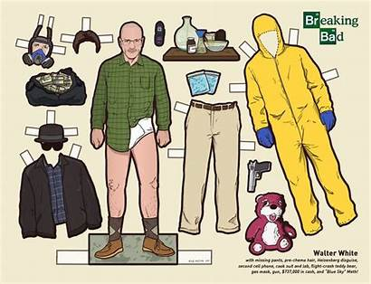 Breaking Bad Paper Walter Doll Dolls Kyle