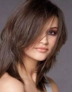 Coupe Dégradé Long : coupe de cheveux mi long effile ~ Dallasstarsshop.com Idées de Décoration