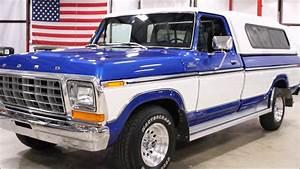1979 Ford F150 Blue White