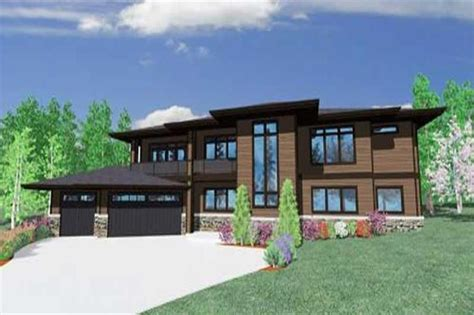 contemporary craftsman home   bedrooms  sq ft house plan   theplancollection