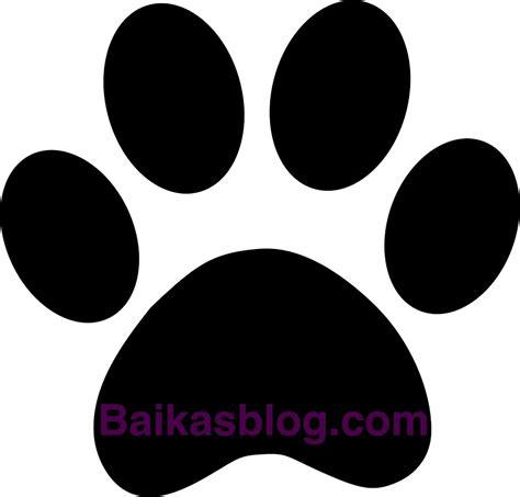 tutoriel pochoir pattes de chien baikasblog