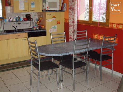 table de cuisine plan de travail table cuisine ou plan travail mural vosges