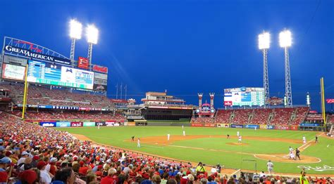 Great American Ball Park, Cincinnati Reds stadium ...