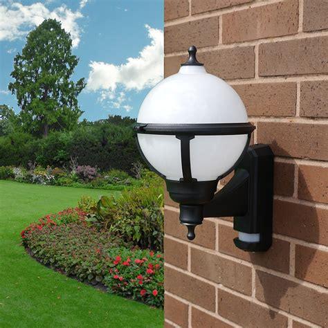 asd globe outdoor wall light lighting direct
