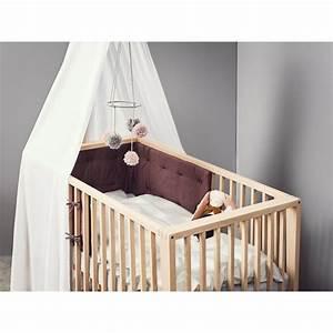 Ciel De Lit Bébé : ciel de lit blanc pour lit b b lin a de la marque leander ~ Teatrodelosmanantiales.com Idées de Décoration