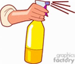 Spraying Clip Art Image - Royalty-Free Vector Clipart ...