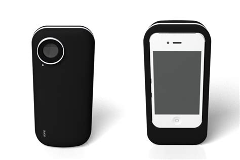 polaroid for iphone iphone is a polaroid printer yanko design