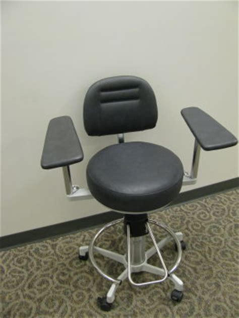 used dexta 905b surgical stool ophthalmology chair and