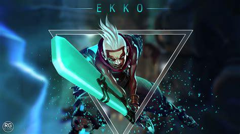 ekko lol wallpapers