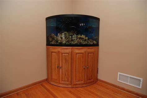 corner fish tank with cabinet corner fish aquariums with stands aquarium design ideas
