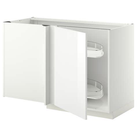 ikea corner base cabinet metod corner base cab w pull out fitting white ringhult