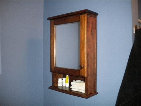 Mirrored Medicine Cabinet For Bathroom