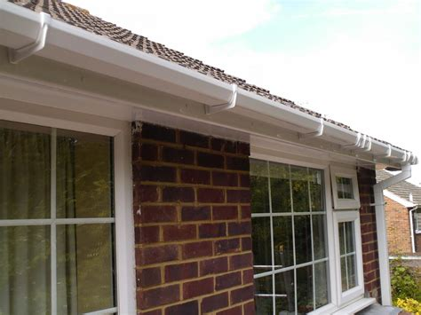 replace fascia  soffits boards  plastic upvc