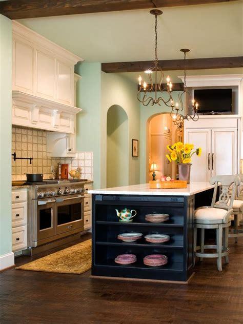 soft green mediterranean inspired kitchen  white