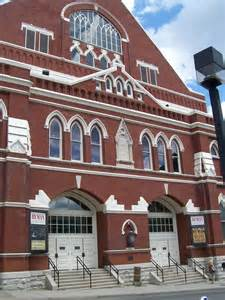 Grand Ole Opry Ryman Auditorium Nashville TN